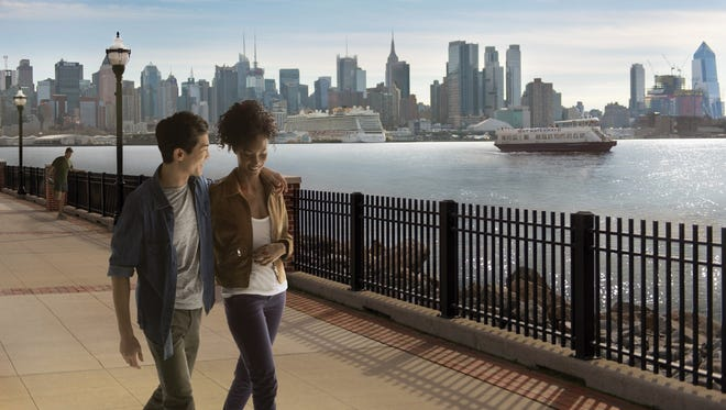 From Nine on the Hudson, a quick walk of less than a mile delivers residents to the Port Imperial/Weehawken ferry station, where they can catch weekday rides departing every 10 minutes.