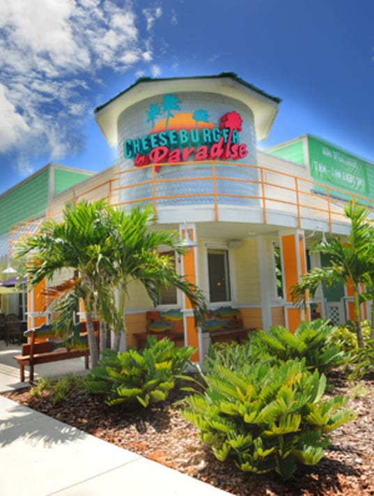 Cheeseburger in Paradise - Exterior