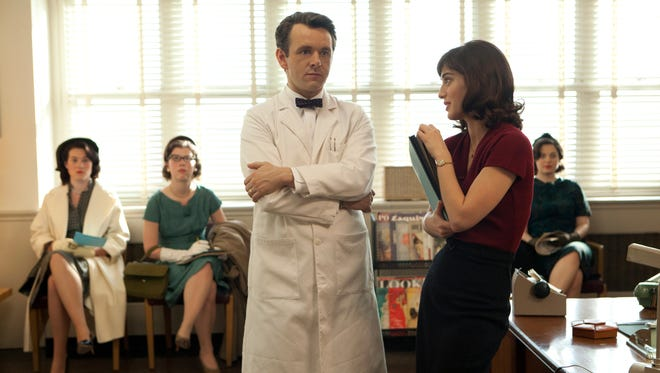 'Masters of Sex' is ideally cast, anchored by full-bodied performances from Michael Sheen and Lizzy Caplan as William Masters and Virginia Johnson.