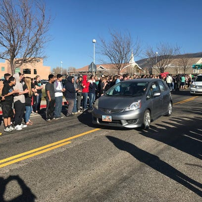 16-year-old critically injured in Cedar City crash welcomed home