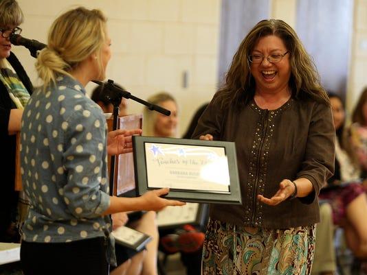 San Angelo ISD's Teacher of the Year