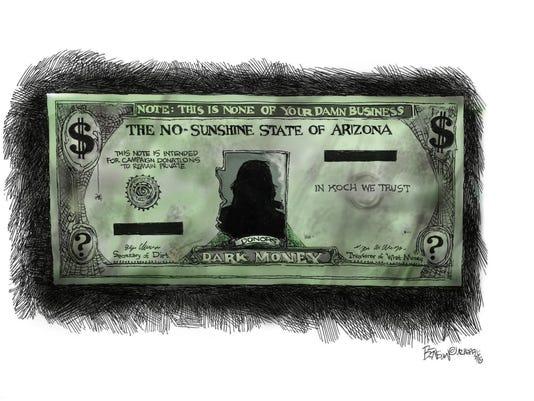 Dark money is Arizona's currency