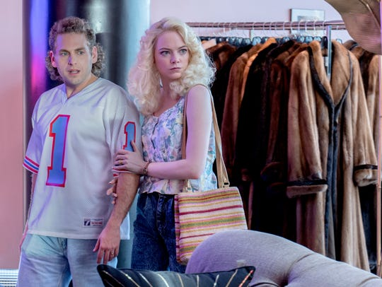 "Jonah Hill and Emma Stone in ""Maniac."""