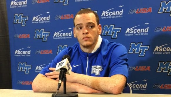 Reggie Upshaw after putting up 32 points and 12 rebounds