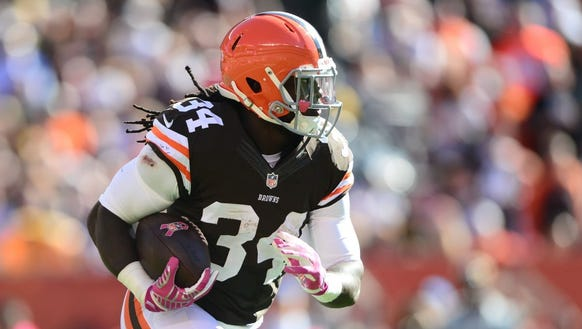 Former Alabama State star Isaiah Crowell rushed for