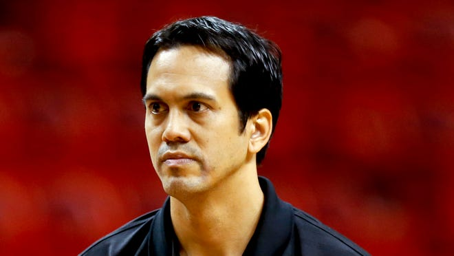 Erik Spoelstra has signed a contract extention with the Miami Heat.