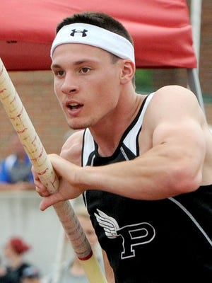 Perry pole vaulter Lucas Kelley won two Division I state championships during the decade.