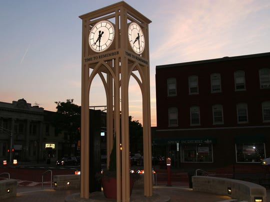 A ceremony comemmorating the 14th anniversary of the Sept. 11 attacks will be conducted next to Somerset County 9/11 Memorial in Somerville at 8:46 a.m. Friday, Sept. 11. The memorial is at the Main and Bridge streets.