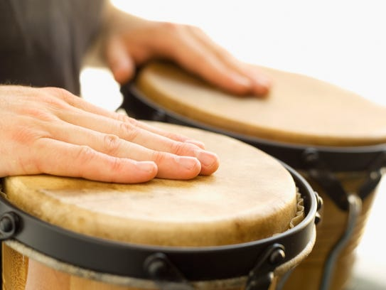 Join in a drum circle every Saturday at 10 a.m. on