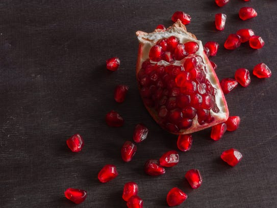 Pomegranates continue to be a popular superfood.