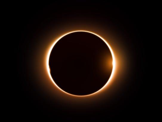 Digital eclipse image