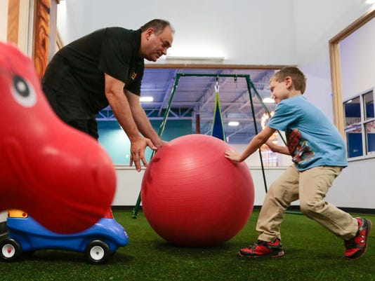 Photos: Center gives children with autism a place to play