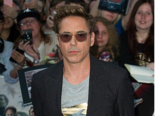 Robert Downey Jr. at premiere