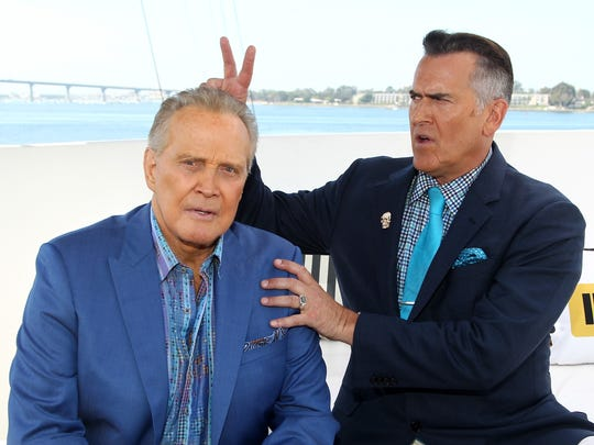 'Ash Vs. Evil Dead' co-stars Lee Majors and Bruce Campbell