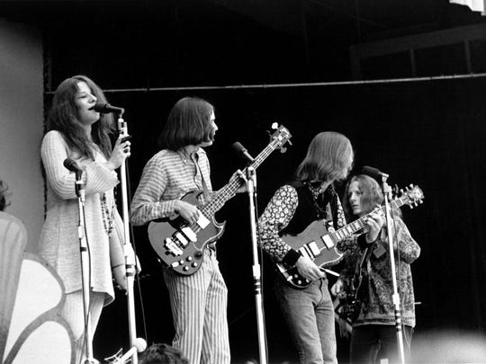 Janis Joplin performs with Big Brother and the Holding