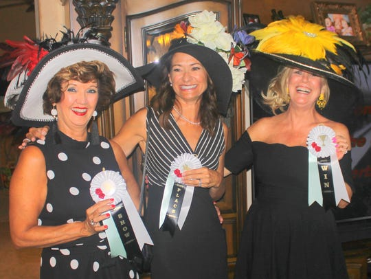 Best lady hat winners were Sharon Cook, Tammy Snyder