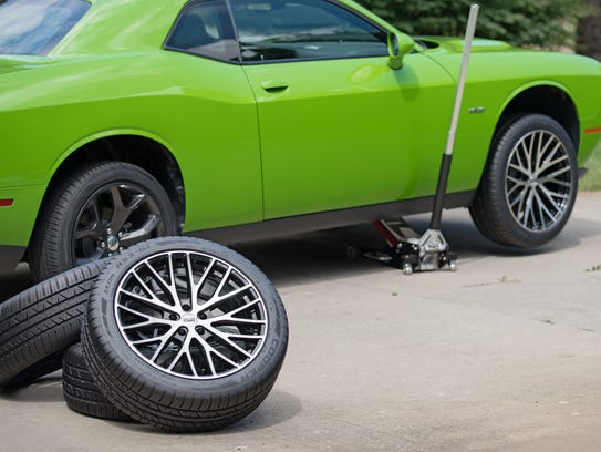 A +1 tire and wheel package is when a wheel is installed