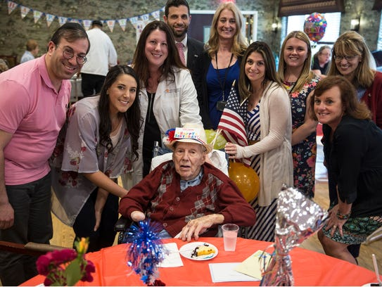 World War II veteran and Flying Tiger Bill Laun of