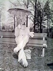 City Easter egg hunt at Landis Park. 3/30/61.