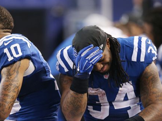 It's been that sort of stint for Trent Richardson in Indianapolis