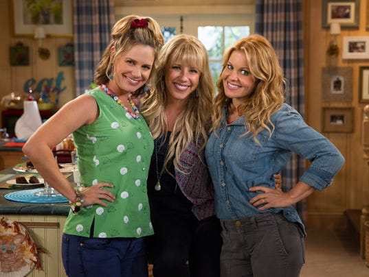 Andrea Barber Jodie Sweetin Candace Cameron-Bure
