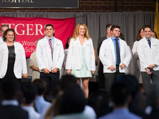 Rutgers holds annual White Coat Ceremony for first-year med students