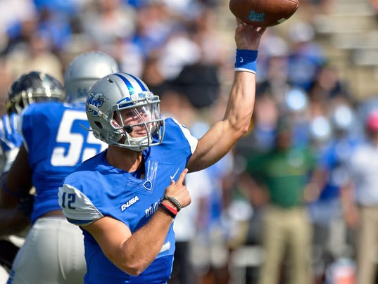 NCAA Football: Middle Tennessee at Vanderbilt