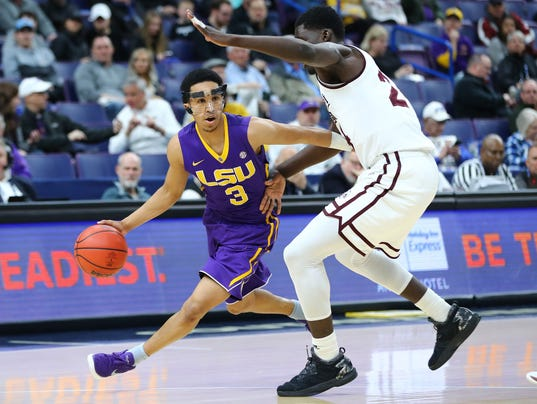 NCAA Basketball: SEC Conference Tournament-Mississippi State vs LSU