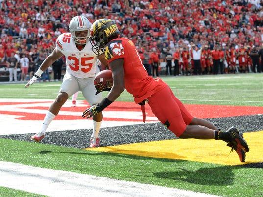 NCAA Football: Ohio State at Maryland