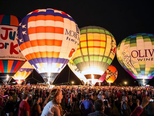 Louisville Balloon Glow 10