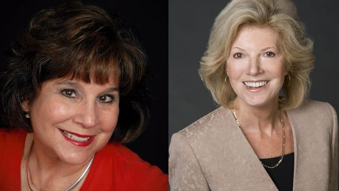 Carol Del Carlo and Sara LaFrance run for a board post  on the Nevada Systmem of Higher Education.