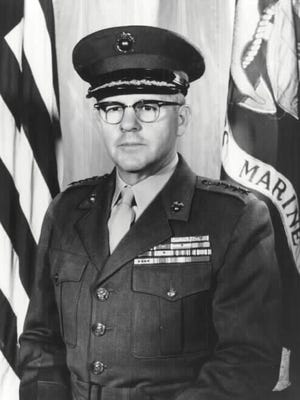 General David M. Shoup was a Battle Ground native who became Commandant of the Marine Corps and a Medal of Honor winner.