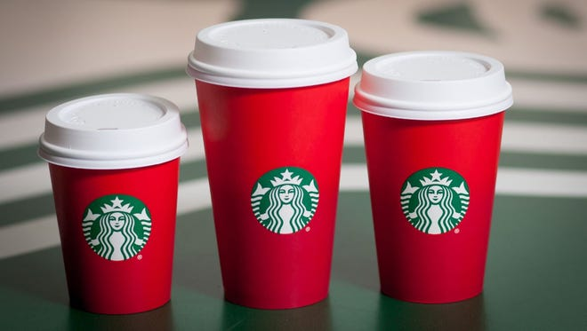 The 2015 Starbucks red holiday cups gained some controversy for not having any holiday symbols on them.