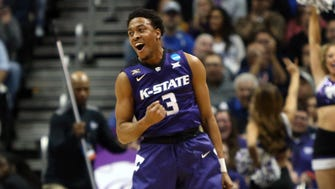 Kamau Stokes and Kansas State are looking to end Loyola-Chicago's Cinderella run.