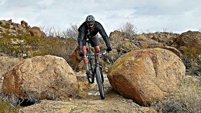 The trails surrounding the Doña Ana Mountains are some of BLM's most popular for mountain biking enthusiasts.