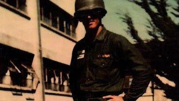 Skip Gorman.Drafted. Fort Ord. Fort Bragg. Cholon, South Vietnam. Inglewood. Ridgecrest.