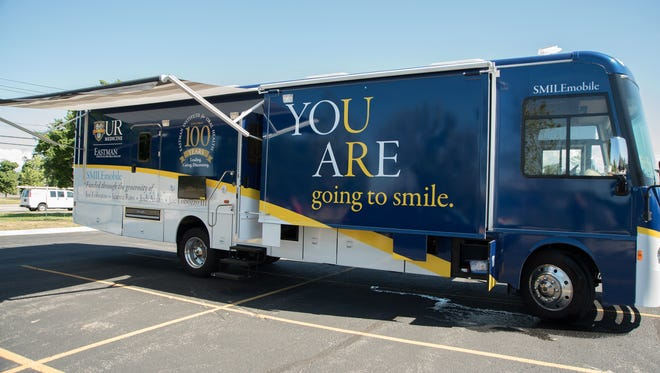 The Eastman Institute for Oral Health uses its SMILEmobiles to reach underserved Rochesterians.