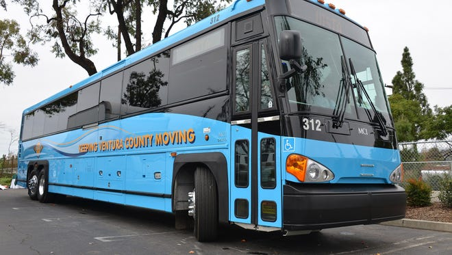 The Ventura County Transportation Commission will reduce its intercity bus service by 8 percent starting Monday in part because of low ridership.