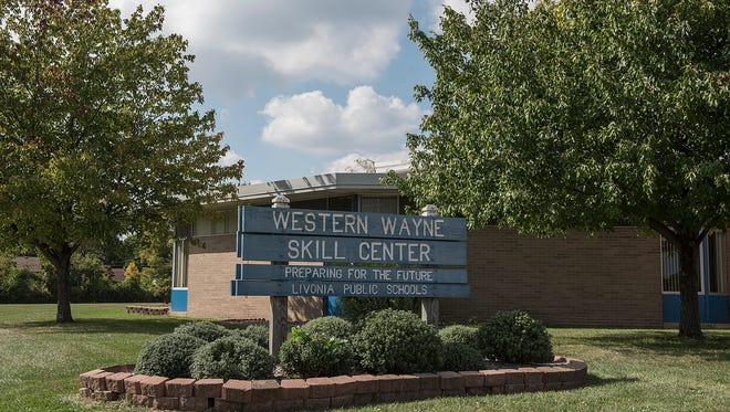 The Western Wayne Skills Center on Ann Arbor Trail in Westland sits on part of a roughly 21-acre site that Livonia Public Schools officials have agreed to sell to Infinity Homes Inc. The WWSC program will move and the building will be torn down before the sale is closed.