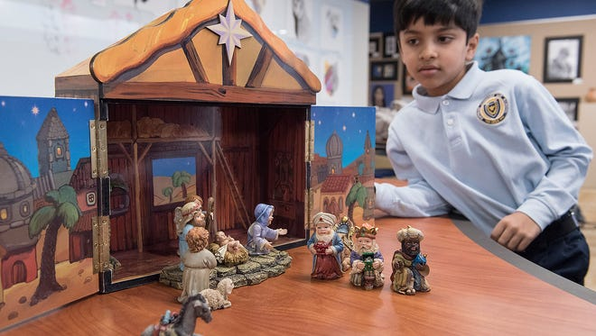Krithin Marpury learns about the origins on the celebration of Christmas.