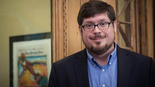 Martin Johnson, newly named dean of LSU's Manship School of Journalism