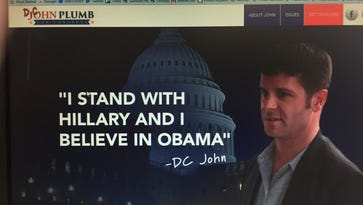 The website formerly named DCJohnPlum.com now redirects viewers to StopDCJohn.com. It is run by the Tom Reed for Congress campaign.