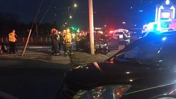 Bridgeton driver injured in Vineland crash