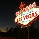 Las Vegas famous sign.