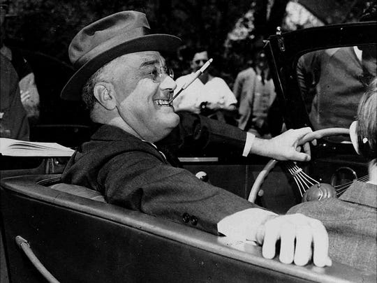 Franklin Delano Roosevelt in 1939