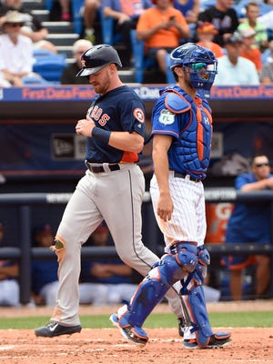 Cedar Crest grad Derek Fisher was rewarded for a hot start in the minor leagues on Wednesday, when he was called up to the Houston Astros.