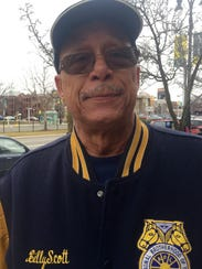 Bill Scott, 68, Detroit, said he'd see his pension