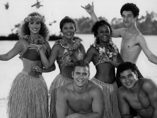 Saved By The Bell Hawaiian BW