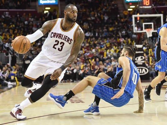 NBA: Orlando Magic at Cleveland Cavaliers