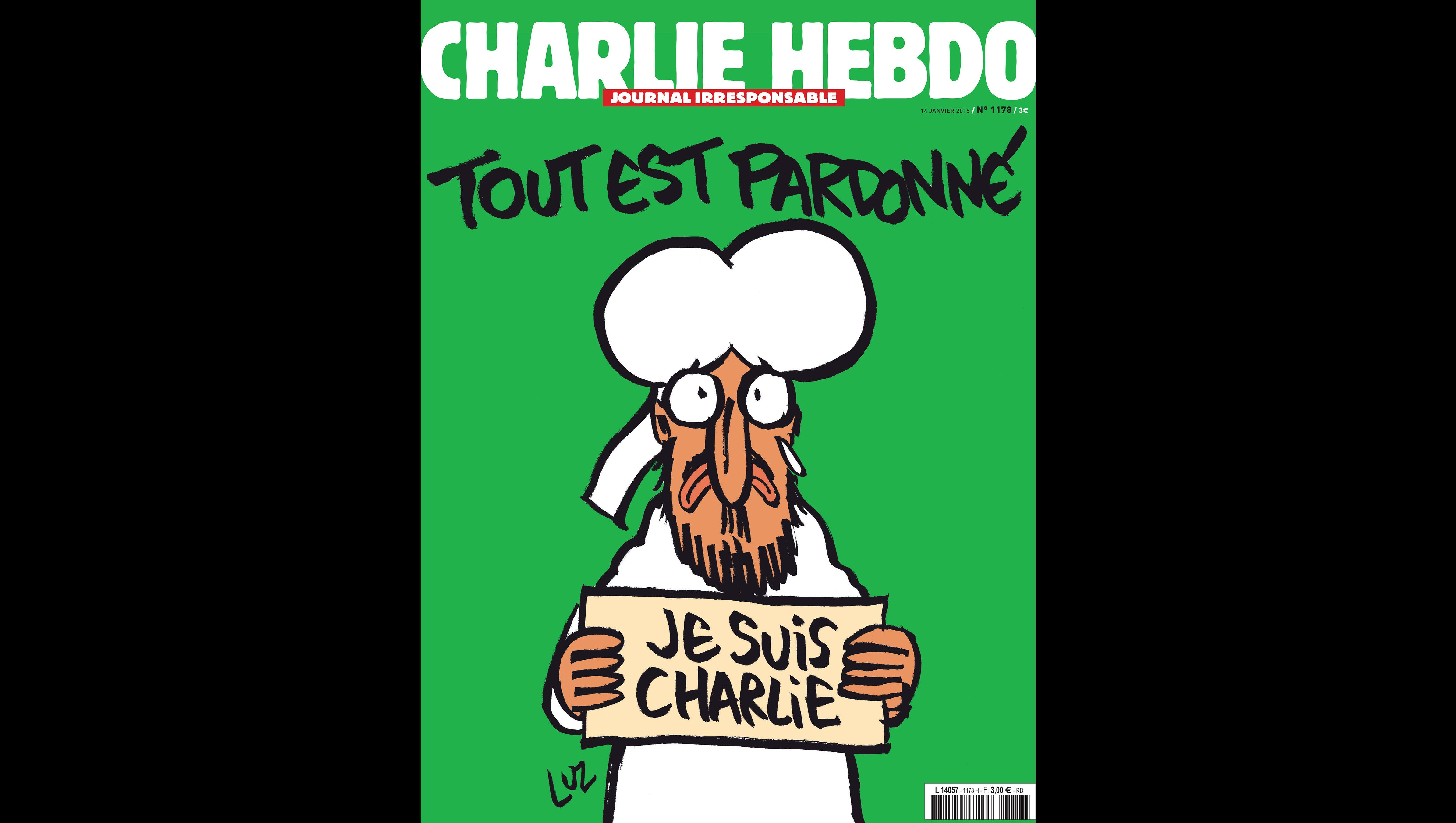 To Believe Je Suis Charlie We Need To See Charlie